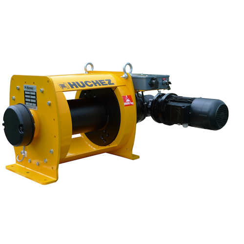 INDUSTRIA range: electric winches from 1 to 10 t