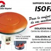 Supports isolateurs Isofa1
