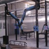 Welding fume suction arms1