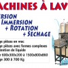Machine à laver aspersion+immersion+rotation+séchage1